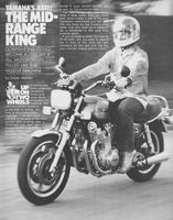 Yamaha XS11 1980 Ad Picture