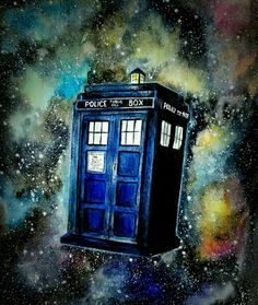Tardis doctor who Tardis Drawing, Tardis Painting, Tardis Tattoo, New Tattoos, Small Tattoos, Tattoos For Guys, Doctor Who Art, Doctor Who Tardis, Dr Who Tattoo