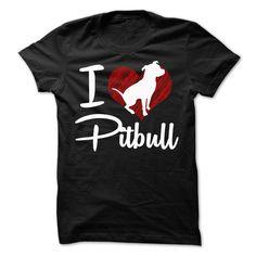 I LOVE PITBULL Tee T-Shirts, Hoodies. GET IT ==► https://www.sunfrog.com/Pets/I-LOVE-PITBULL-Tee.html?id=41382