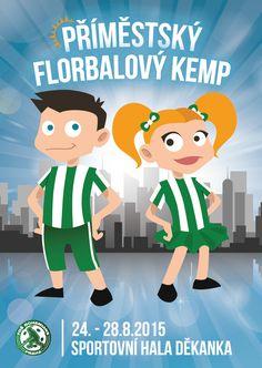 Výsledek obrázku pro příměstský florbalový tábor plakát