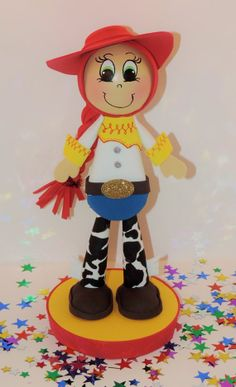Jessie inspired centerpiece cowgirl western party by mipartycrafts, $216.00