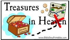 Treasures in Heaven File Folder Game
