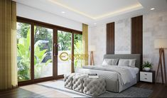 Contemporary, Modern, Bedroom Decor, Rings, Interior, House, Furniture, Home Decor, Yurts