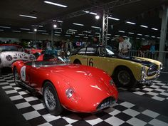 photo Lorenzo Bandini, Fiat Abarth, Vintage Cars, Building, Buildings, Classic Cars, Construction, Retro Cars