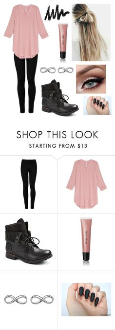 """Pink Cotton"" by sav16 ❤ liked on Polyvore featuring Wolford, Melissa McCarthy Seven7, Bobbi Brown Cosmetics, Hot Diamonds and comfy"