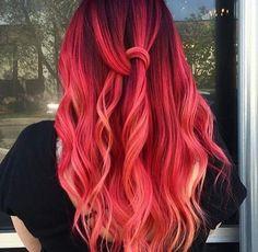 Likes, 52 Kommentare - Pulp Riot Hair Color (P . - Frisuren Tips Cute Hair Colors, Pretty Hair Color, Beautiful Hair Color, Hair Color Purple, Hair Dye Colors, Color Red, Vivid Hair Color, Gorgeous Blonde, Dye My Hair