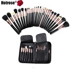 ed03ec06f4 Find More Makeup Brushes  amp  Tools Information about 29 Pcs Makeup Brush  Set Professional Wool