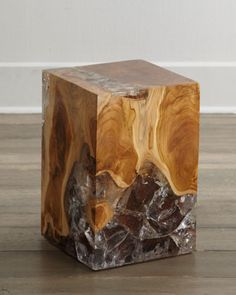 Sherwood Square Side Table at Horchow.