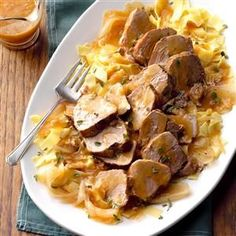 Citrus-Herb Pork Roast Recipe -The genius combination of seasonings and citrus in this tender roast reminds us why we cherish tasty recipes. It's nice to serve with hot noodles to soak up any extra citrus gravy. —Laura Brodine, Colorado Springs, Colorado