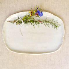 Lee Wolfe Pottery — Modern ceramic platter