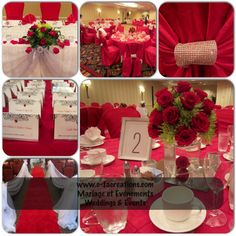 This wedding was for a bride who loves #red #roses and wanted nothing but complete #red themed wedding. This certainly painted the town red and all her guests where excited to see something different.  Visit us @ www.c-tacreations.com for more exciting inspirations
