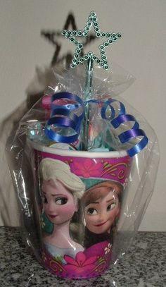 FROZEN Party Favor Cups  Elsa & Anna Frozen Themed by JKkidz, $7.95
