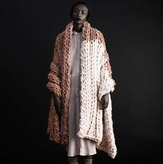 freeform knitted duster coat                                                                                                                                                                                 More