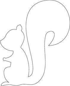 fensterbilder-herbst-vorlage-ausdrucken-ausmalen-schablone-eichhoernchen-Silhouette autour du tissu déco enfant paques bébé déco mariage diy et crochet Autumn Crafts, Fall Crafts For Kids, Diy For Kids, Diy And Crafts, Christmas Crafts, Paper Crafts, Simple Crafts, 3d Paper, Kids Christmas