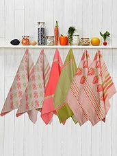 Kitchen Towels With Hanging Loop