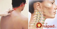 Metóda, ktorá pomôže uvoľniť stuhnutý krk v priebehu niekoľkých sekúnd.