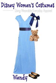 Disney Halloween Fashion Board costume for teen- Wendy (1)