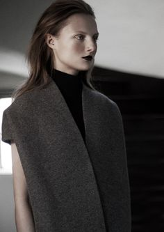 Hanna Samokhina by Niclas Heikkinen for Grit #7 Pre-Fall/Winter 2011