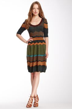 Textured Knit Dress by M Missoni on @HauteLook