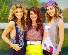 AnnaLynne McCord, Shenae Grimes, and Jessica Stroup
