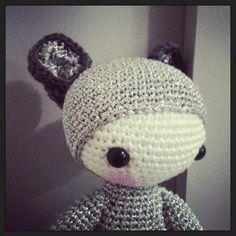 KIRA the kangaroo made by abordage / crochet pattern by lalylala