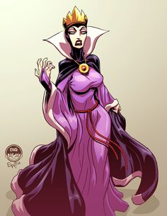 Evil Queen Snow White - Christmas Commission by *EryckWebbGraphics on deviantART