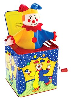 Jack-in-the-Box 166785: Classic Schylling Jack In The Box Musical Children Kids Smiling Joy Fun Cool Toy -> BUY IT NOW ONLY: $35.42 on eBay!