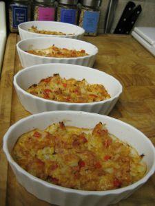 Tuna cheesie bake ~ cauliflower, tuna and cheese low carb high protein lunch or dinner option!