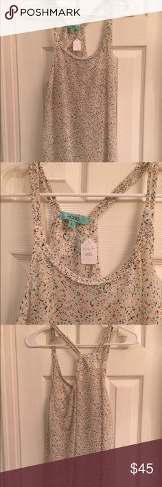 NWT Karlie tank L Multicolored Tops Tank Tops
