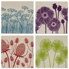 Introducing textile designer, Sarah Johnston of Marram Studio... | Flowerona
