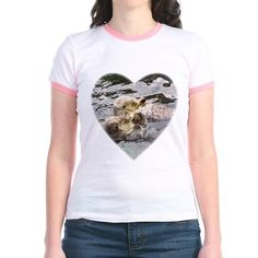 Sea otter love photo shirt for you or a friend. www.buffaloworks.us for more t-shirts, sweatshirts, other apparel & photo gifts for home decor. Find our contact link there for customization.