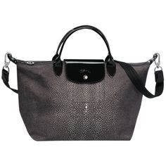 This Le Pliage Top Handle Néo Fantaisie bag from Longchamp's Fall 2014 collection is to DIE for