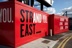 Cheap Chic backyard houses by Ikea? London: The marketing for Strand East is well underway.