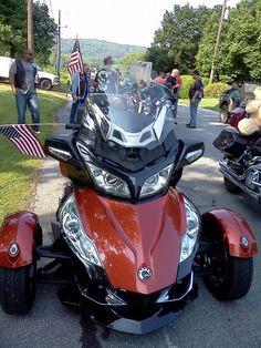 Spyder Motorcycle