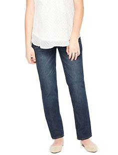 Motherhood Indigo Blue Secret Fit Belly Straight Leg Maternity Jeans -- For more information, visit image link. (This is an affiliate link and I receive a commission for the sales) Pregnancy Wardrobe, Pregnancy Outfits, Maternity Wardrobe, Pregnancy Tips, Baby Clothes Shops, Clothes For Sale, Clothes For Women, Jeans Price, Maternity Pants