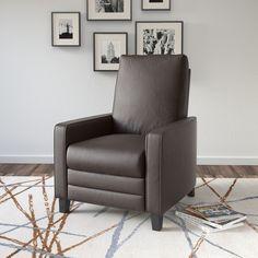 CorLiving Kelsey Modern Recliner Armchair