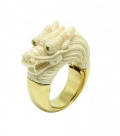 http://www.bibivandervelden.com/Shop/The-Mammoth-Collection/Gold-Dragon-Ring.html