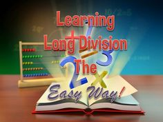 Get 4 ideas to make learning long division a little more fun, plus links to division videos and games! Add these ideas into your lessons and see the those eyes (and brains) perk up! Teaching Numbers, Teaching Math, Teaching Ideas, Math Division, Long Division, Homeschool Math, Homeschooling, Fourth Grade Math, Math Concepts