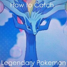Learn how the right Pokeballs, moves and types can help you catch #Legendary #Pokemon!