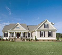 ***LOVE THIS! Eplans Country House Plan - Elegant Simplicity - 1882 Square Feet and 3 Bedrooms from Eplans - House Plan Code HWEPL06839