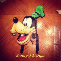 Goofy perler beads by kinipela38