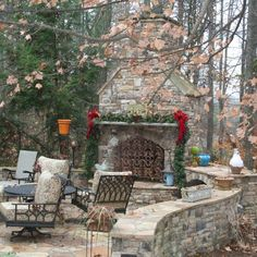 Spending Christmas in a beautiful house in the suburbs of Atlanta, Georgia