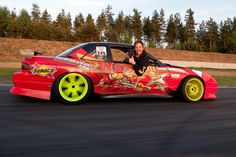 And I always learn new stuff, like how to get the best Drifting pictures., love it