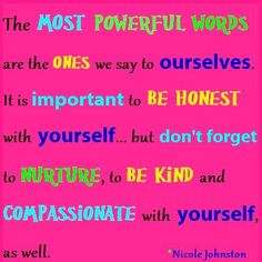The Most Powerful Words...