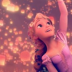 And at last I see the light - rapunzel