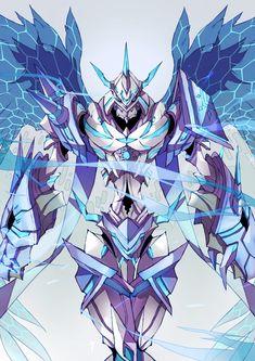 Omegamon Seraph Mode by Nateasora on DeviantArt Arte Gundam, Gundam Art, Robot Concept Art, Armor Concept, Fantasy Character Design, Character Art, Fantasy Characters, Anime Characters, Digimon Adventure Tri.