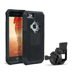 Rokform iPhone 7 PLUS Sport Series Quad Tab, Twist Lock, Universal Bar Mount holder kit for Bikes, Strollers and more with iPhone 7 PLUS rugged protective case ** Read more reviews of the product by visiting the link on the image.