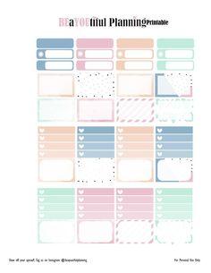 Love – Free Printable | BEaYOUtiful Planning To Do Planner, Free Planner, Happy Planner, Planner Ideas, Printable Planner Stickers, Free Printables, Calendar Stickers, Calendar 2017, Planner Decorating