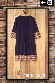Combined tenun Dress and cotton fabric