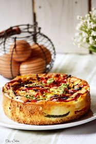 Savory Cheesecake, Cheesecake Recipes, World Chef, Batch Cooking, Italian Dishes, Veggie Recipes, Food To Make, Delish, Bakery